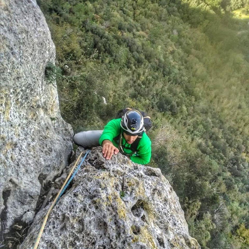Marco Moraglio Guida Ambientale Escursionistica arrampicata